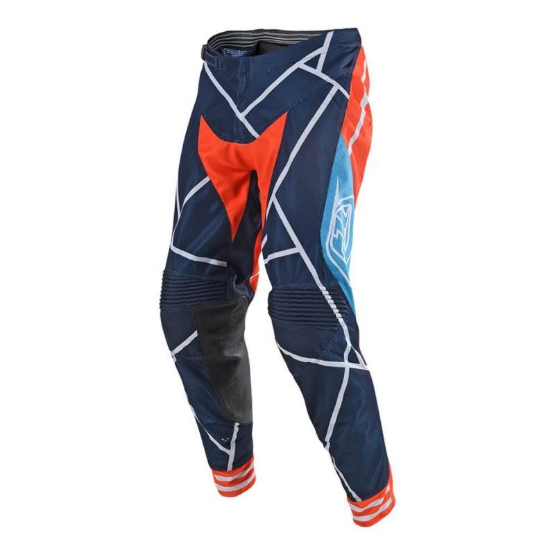 Pantalon cross Troy Lee Designs SE Air Metric orange/navy