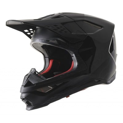 Casque cross Alpinestars Supertech S-M8 Echo noir/anthracite mat et brillant