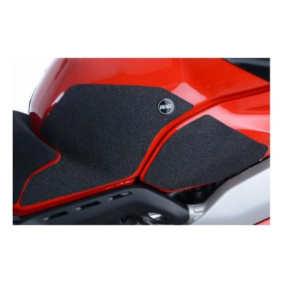 Kit grip de réservoir R&G Racing noir Ducati Panigale V4 2018