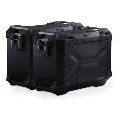 Valises latérales SW-MOTECH TRAX ADV noires 45L support PRO Ducati Multistrada 1260 Enduro 18-20