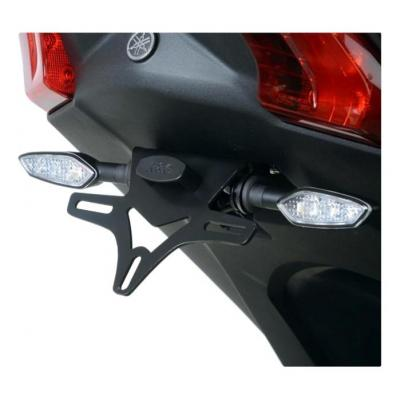 Support de plaque d'immatriculation R&G Racing noir Yamaha T-Max 530 17-18
