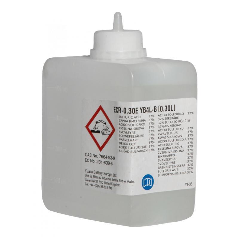 Batterie Yuasa YB4L-B 12V 4Ah avec pack acide - 2