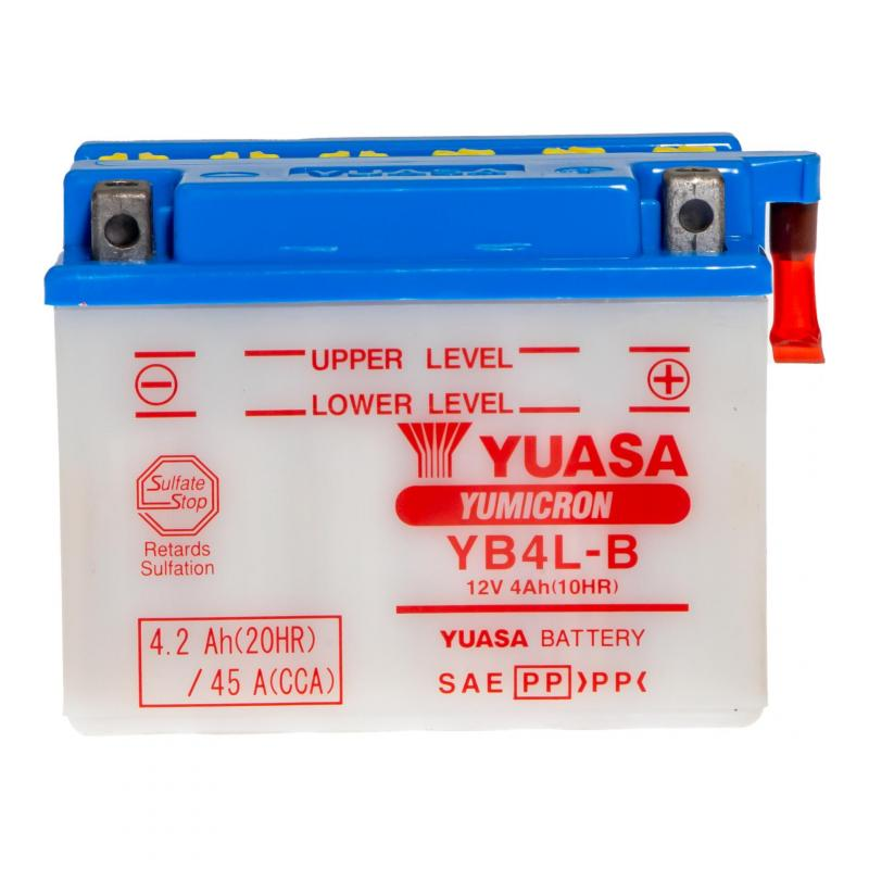 Batterie Yuasa YB4L-B 12V 4Ah - 2