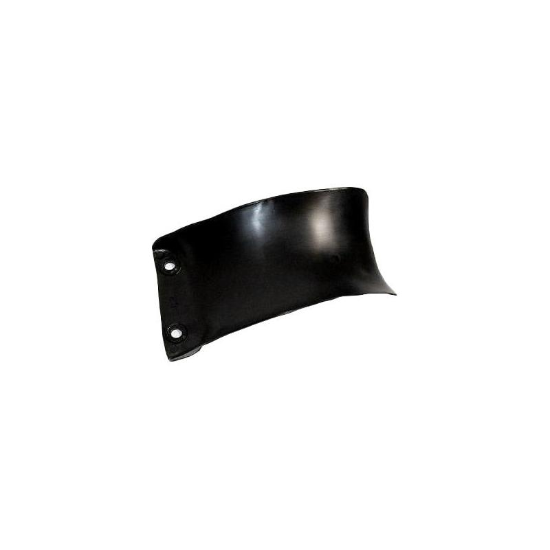 Bavette d'amortisseur RTech noire pour Honda CRF 450 R 13-16