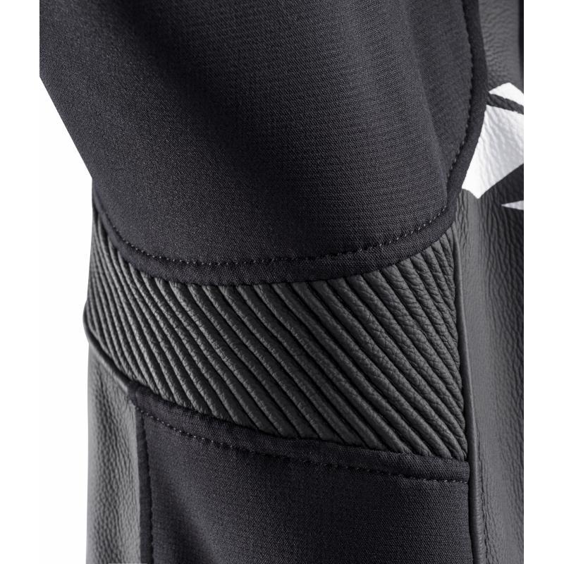 Blouson cuir Ixon Sparrow noir/blanc - 4