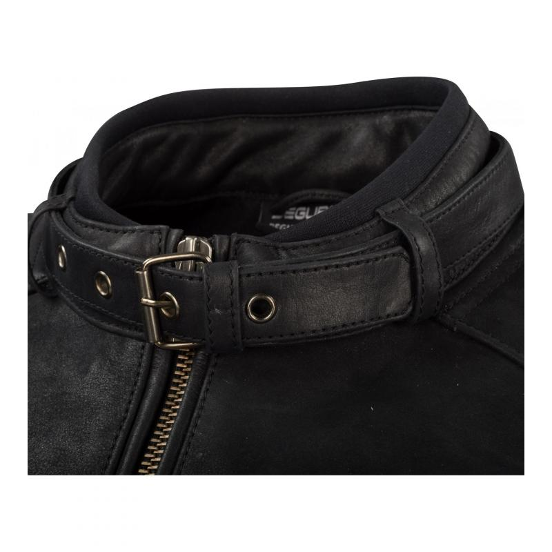 Blouson cuir Segura Felix noir - 4