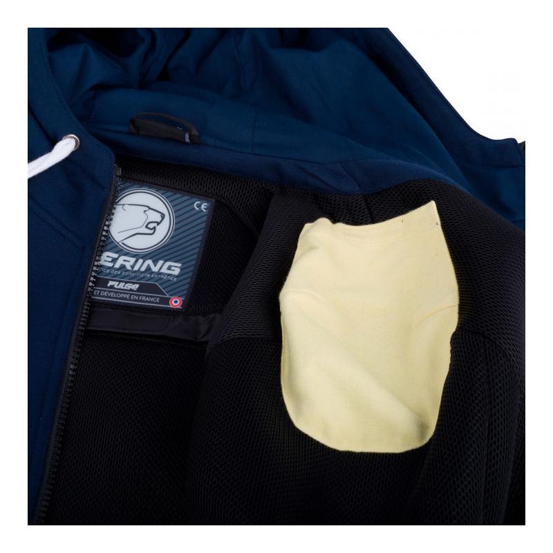 Blouson textile Bering Hoodiz marine - 2