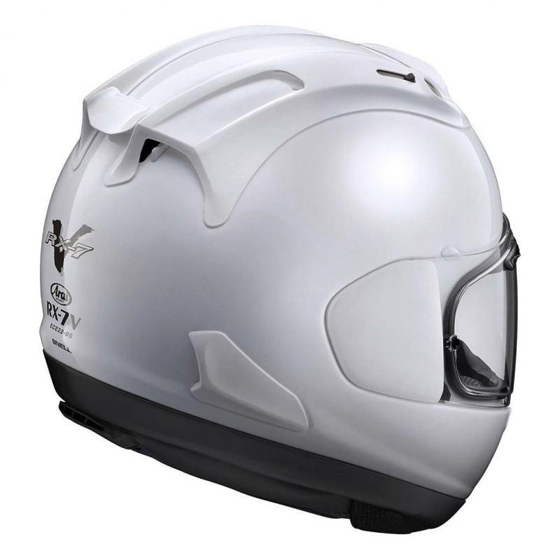 Casque intégral Arai RX-7V Diamond White - 1