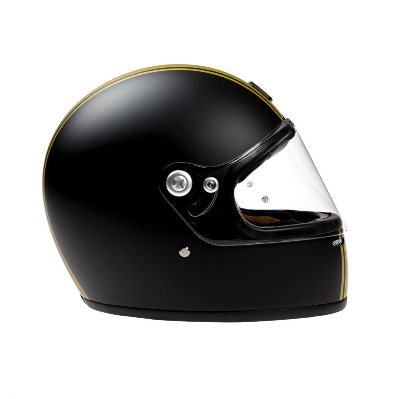 Casque intégral Astone VINTAGE GT RETRO mat noir/or - 2