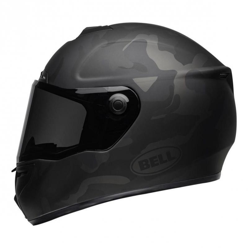 Casque intégral Bell SRT Stealth noir mat camo - 1