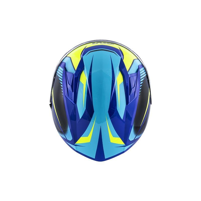 Casque intégral Givi 50.6 Stoccarda Glade bleu/jaune - 3