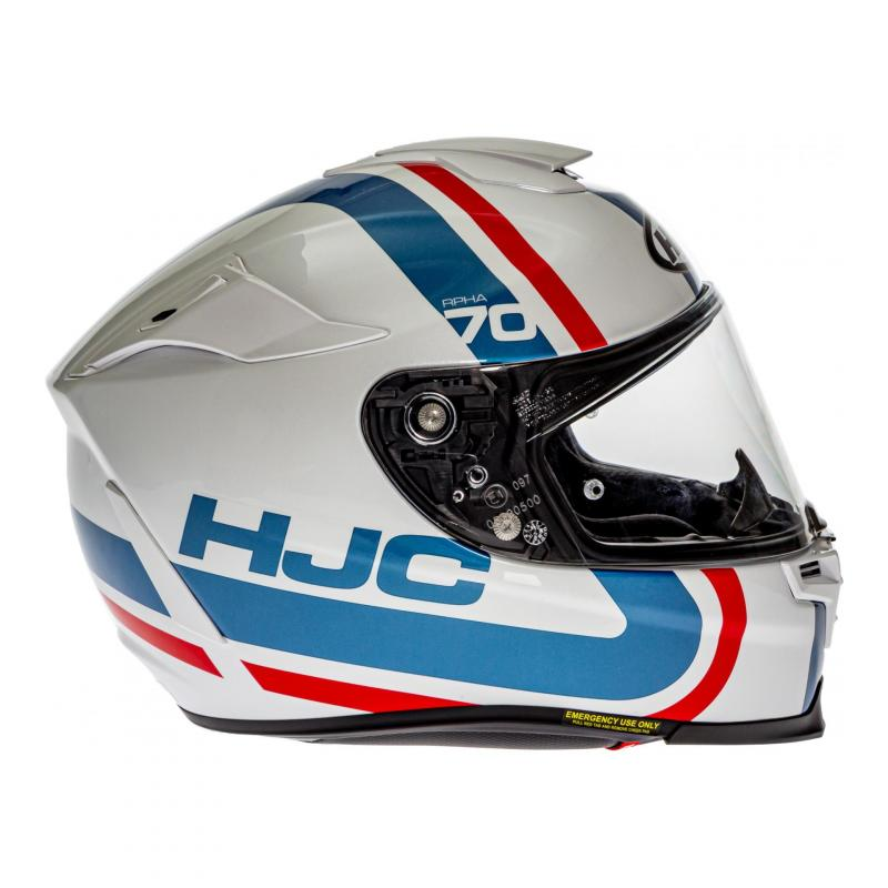 Casque intégral HJC RPHA 70 Gaon Blanc/bleu/rouge - 2