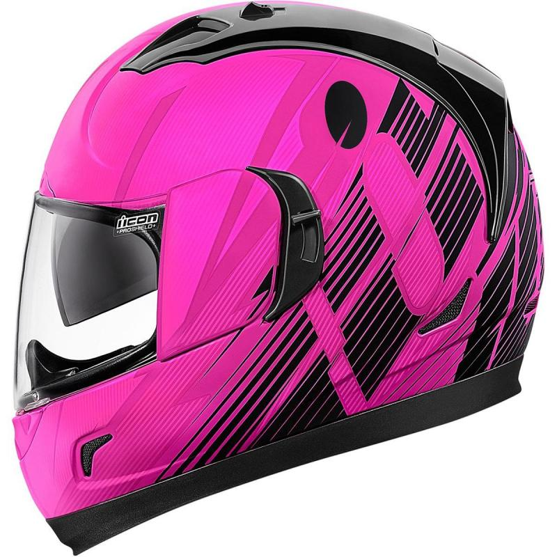 Casque intégral Icon Alliance GT Primary rose - 2