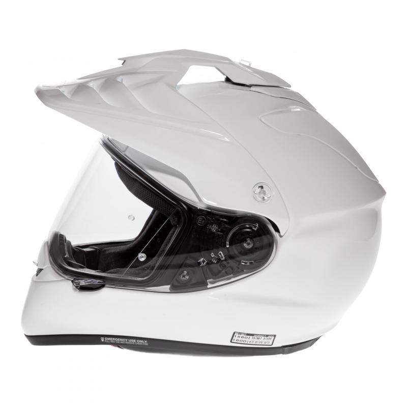 Casque intégral Shoei Hornet ADV blanc - 1