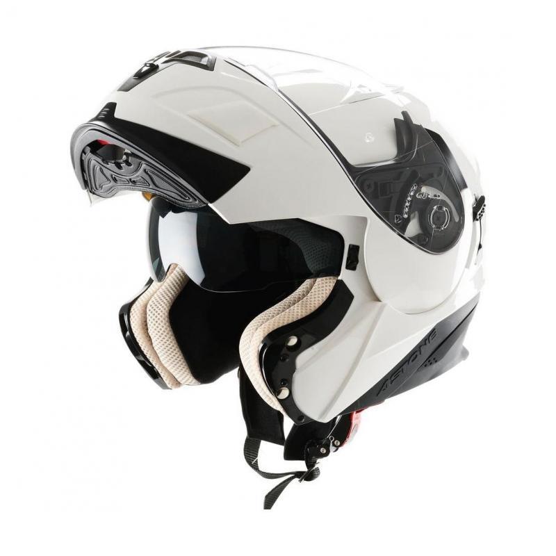 Casque Modulable Astone Rt 1000 Mono blanc - 1