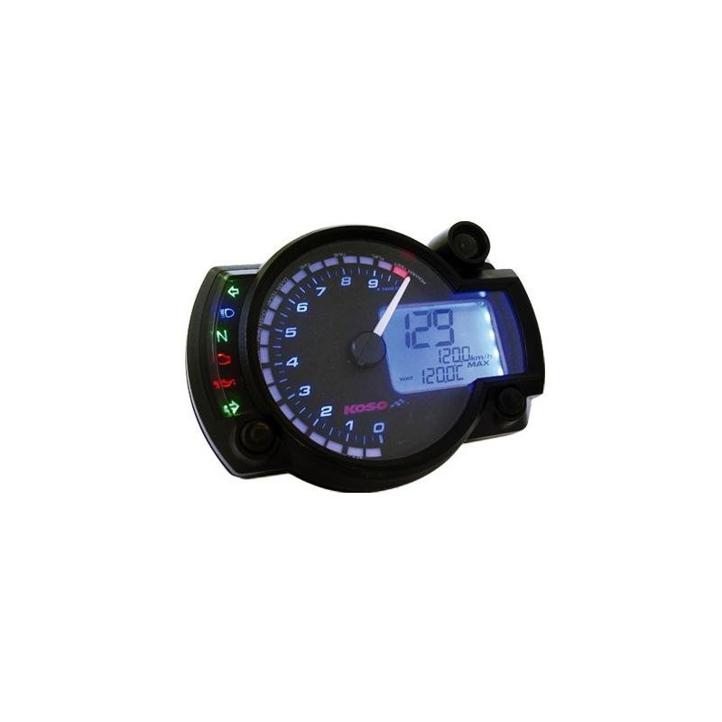 Compteur Koso RX2N+ GP Style 20 000 tr/min - 2