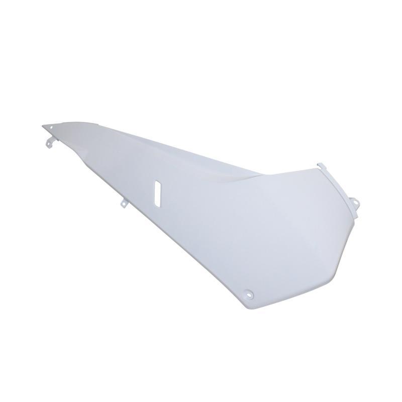 Dessous de tablier avant blanc brillant droit adaptable 500 T-max 2008>2011