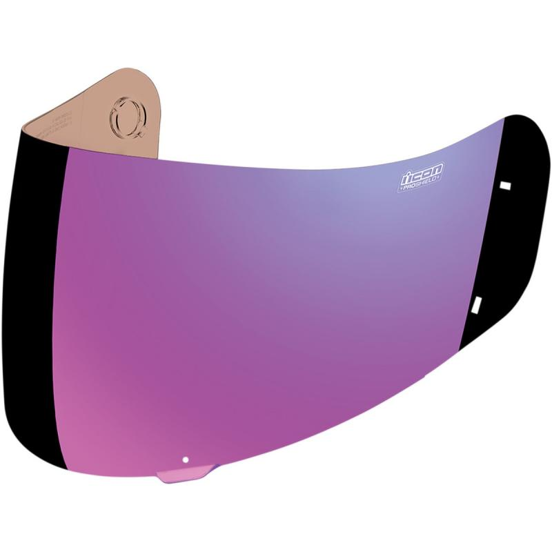 Écran Icon Proshield iridium pour casque Alliance/Alliance GT/Airframe violet