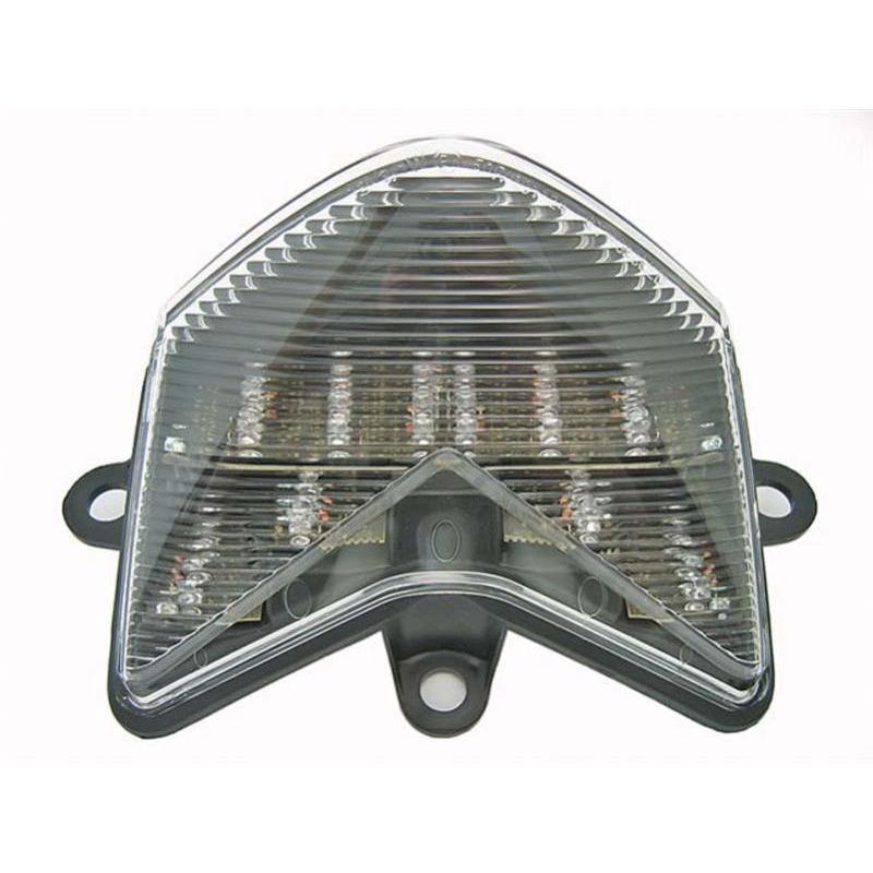 Feu arrière à LED avec clignotants intégrés pour Kawasaki ZX10R 04-05