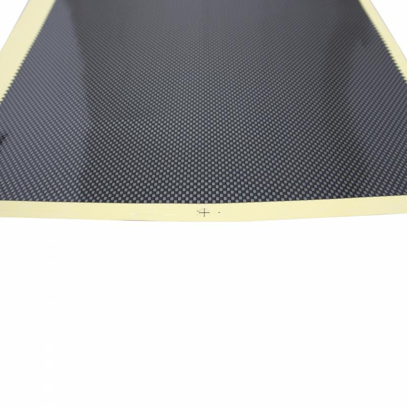 Feuille autocollant carbone 480x315mm - 1
