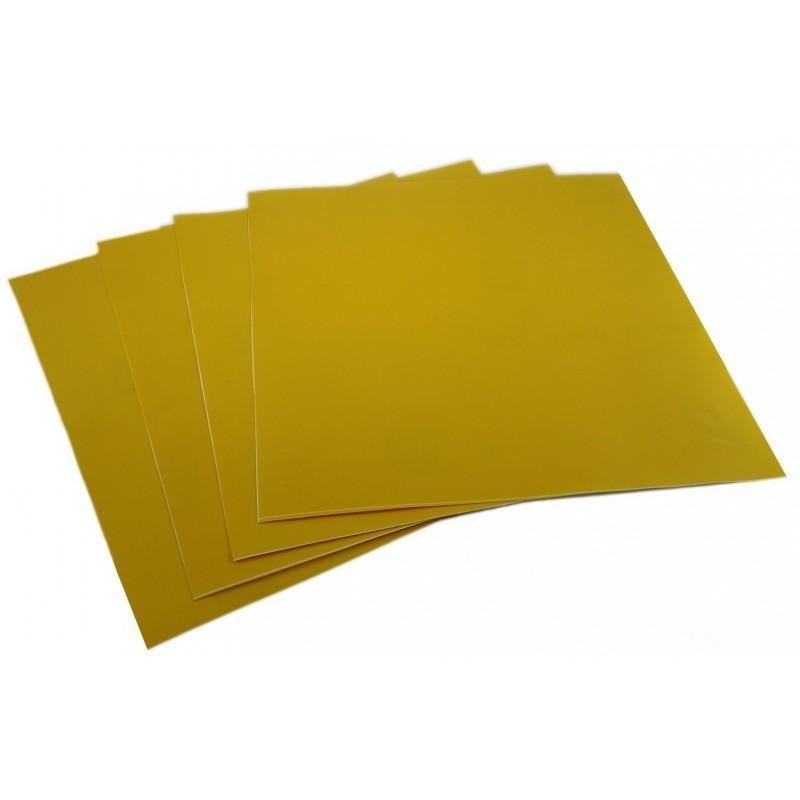 Film vinyle jaune transparent Brazoline pour phare - 2
