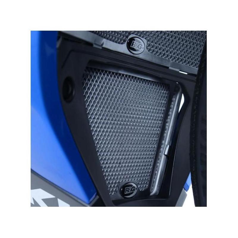 Grille de protection de radiateur d'huile R&G Racing noire Suzuki GSX-R 1000 17-18