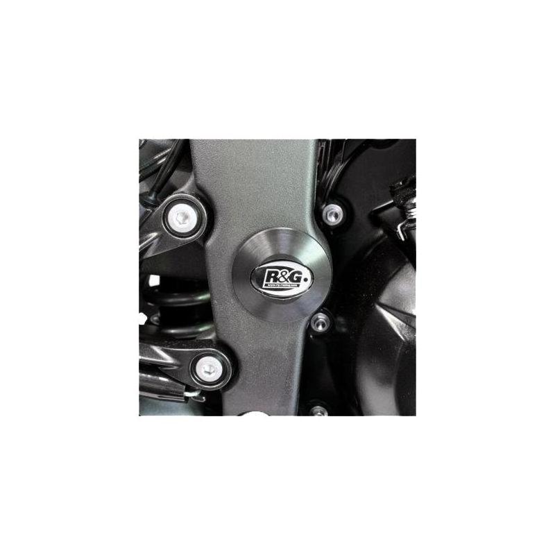 Insert de cadre droit R&G Racing noir Kawasaki ZX-6R 09-17