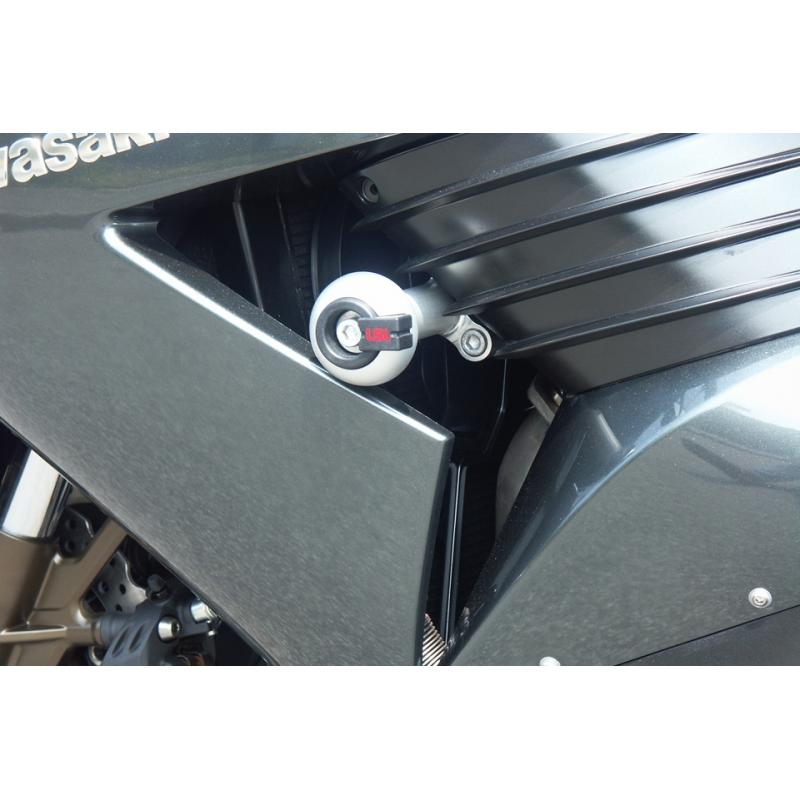 Kit fixation tampon de protection LSL Kawasaki ZZR 1400 06-11
