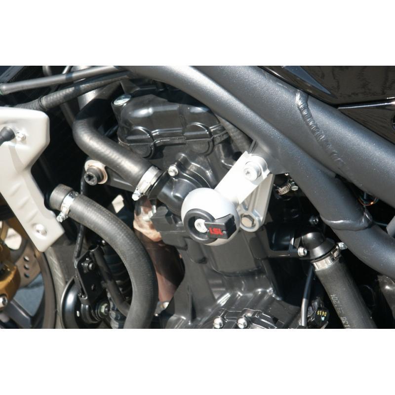 Kit fixation tampon de protection LSL Triumph Speed Triple 1050 05-11