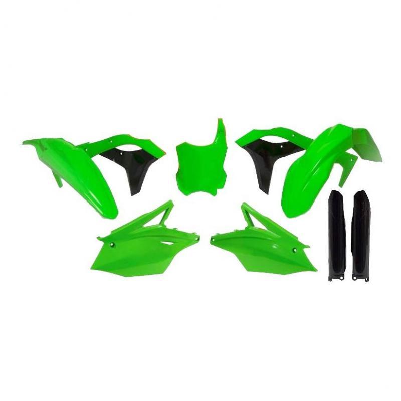 Kit plastique RTech Kawasaki 250 KX-F 17-20 vert fluo