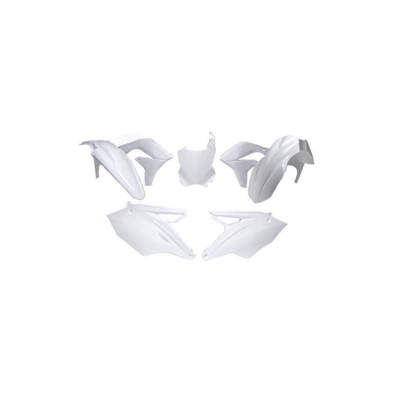 Kit plastique RTech Kawasaki 450 KX-F 16-18 blanc