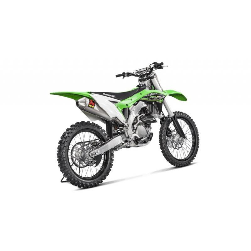 Ligne complète Akrapovic Racing Titanium Kawasaki KX 250 F 2017