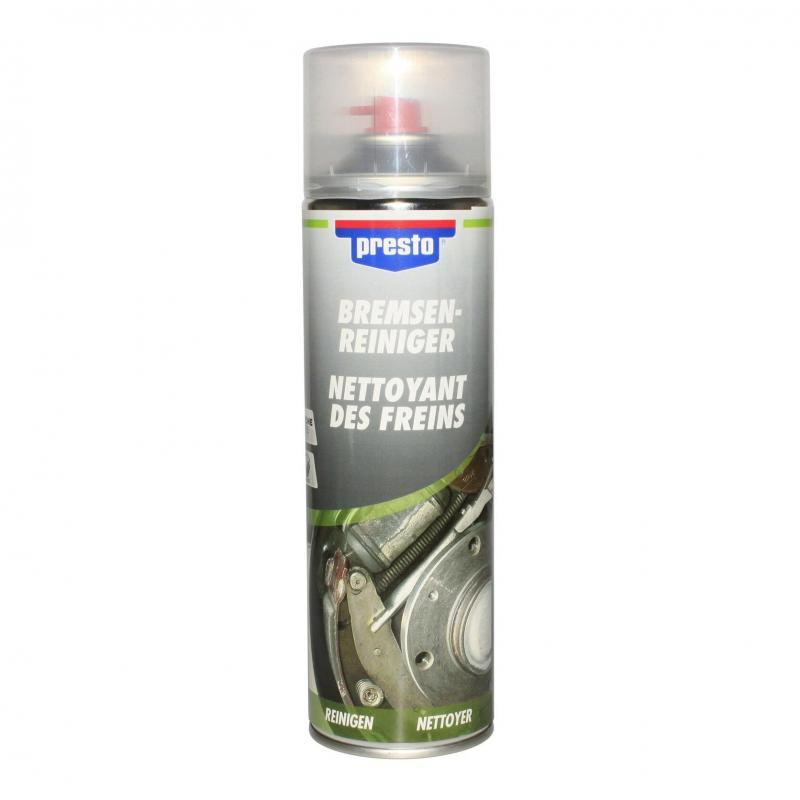 Nettoyant freins presto (aerosol de 600 ml)