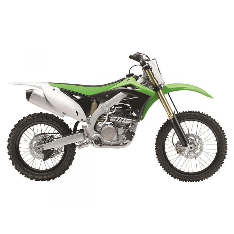 Polisport refroidisseur élément protecteur vert refroidisseur protection haut moteur Kawasaki KX-F 450 2012-2015 2014