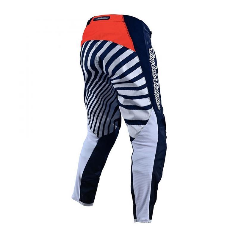 Pantalon cross Troy Lee Designs GP Drift bleu/orange - 1