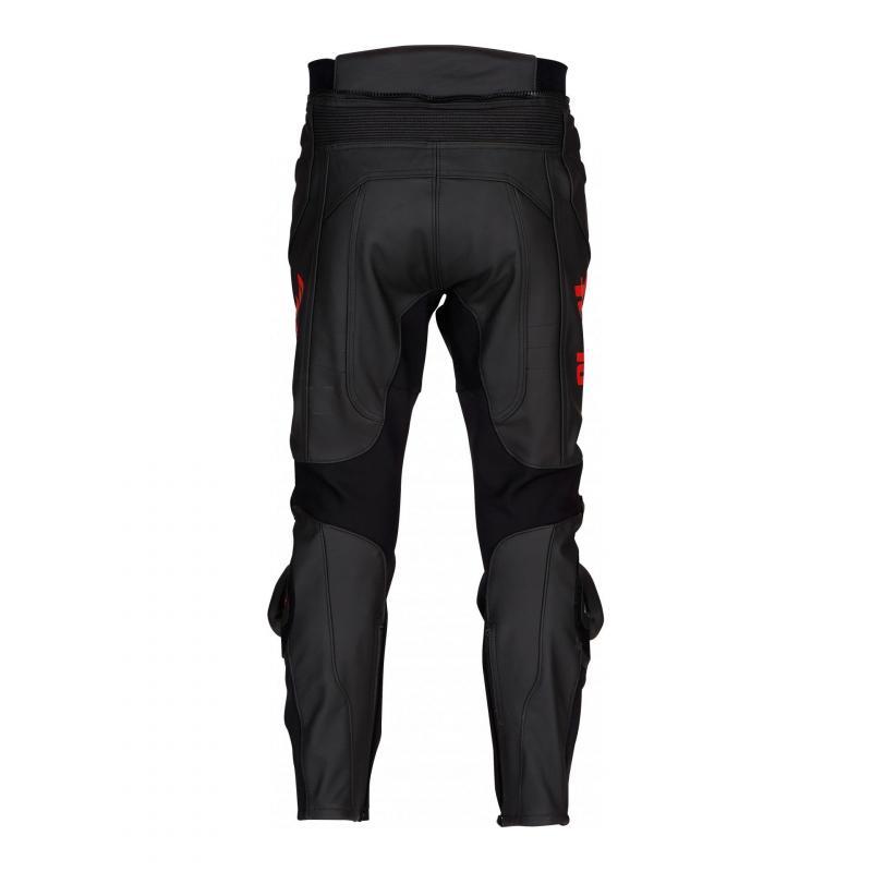 Pantalon cuir Furygan Raptor Evo noir/rouge - 2