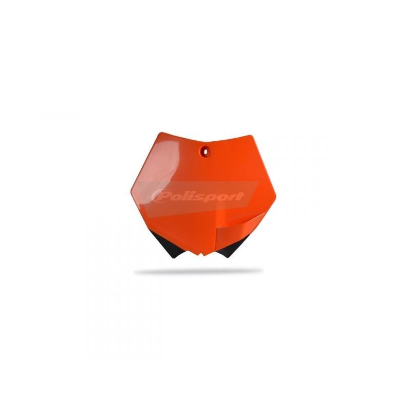 Plaque numéro frontale Polisport KTM 450 SX-F 07-10 orange