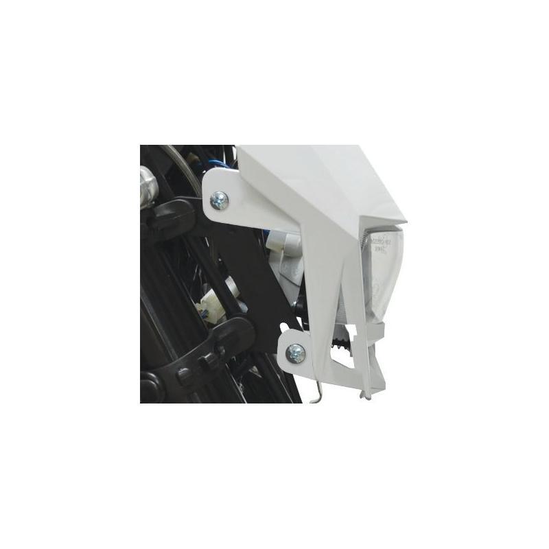 Plaque phare Polisport LMX blanc - 1