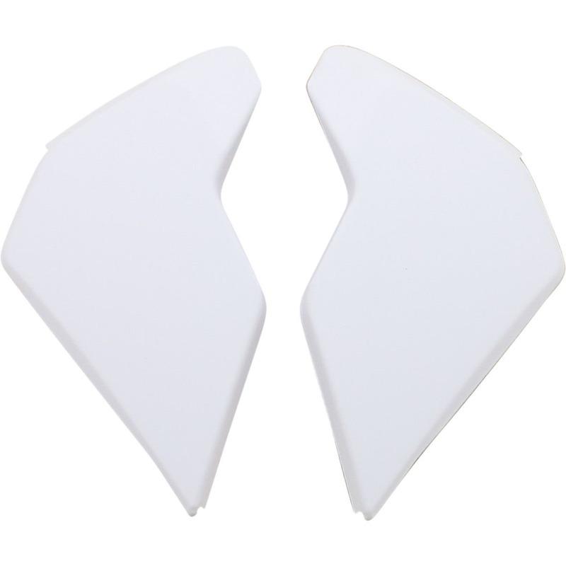 Plaques latérales Icon pour casque Airflite Rubatone blanc
