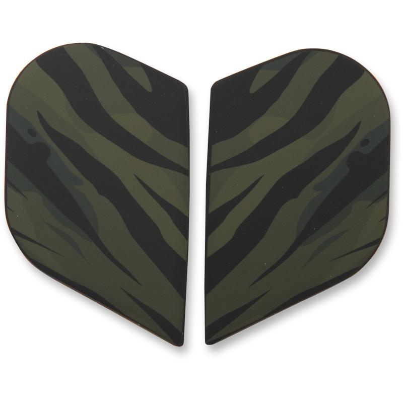 Plaques latérales Icon pour casque Alliance GT Operator vert