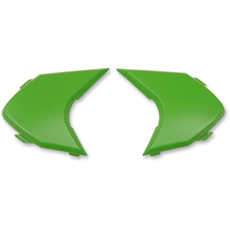 Plaques latérales Icon pour casque Variante Double Stack vert