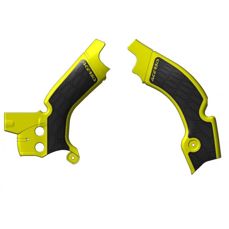 Protection de cadre Acerbis X-grip Suzuki 450 RMZ 08-17 jaune/noir
