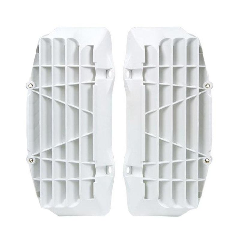Protection de radiateur RTech Renforcé KTM 125 SX 16-18 blanc