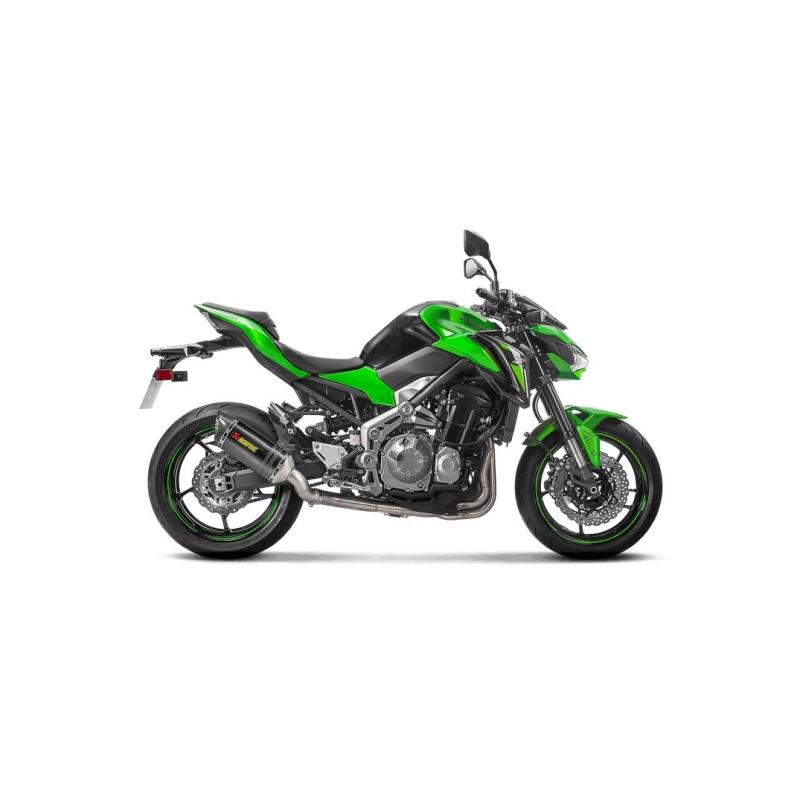 Silencieux Akrapovic full carbone Kawasaki Z900 2017 - 1
