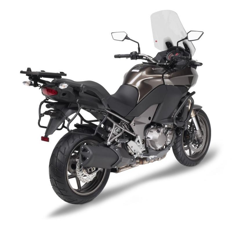 Supports de valises latérales à liaison rapide Givi PLXR Kawasaki 1000 Versys 12-14