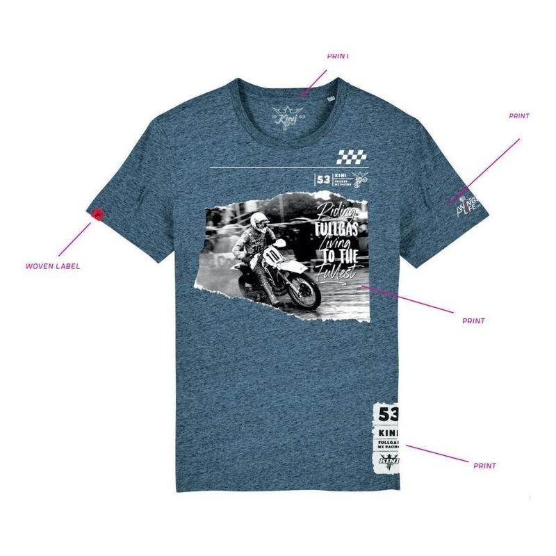 T-shirt Kini Red Bull Trophy bleu chiné