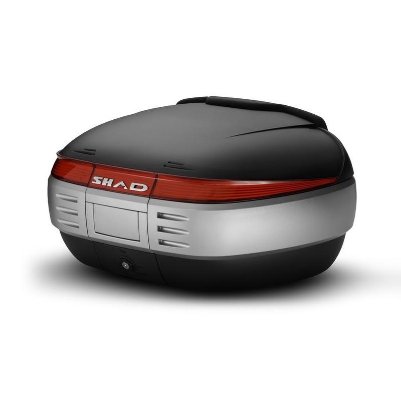 Top case SHAD SH50 Noir Brut