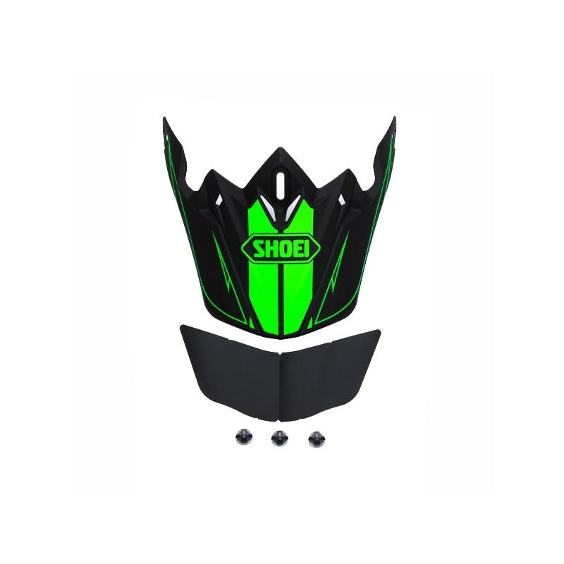 Visière de casque Shoei VFX-W Hectic TC1 noir/vert