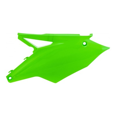 Plaques numéro latérales Acerbis Kawasaki 450 KXF 16/17 vert fluo (paire)