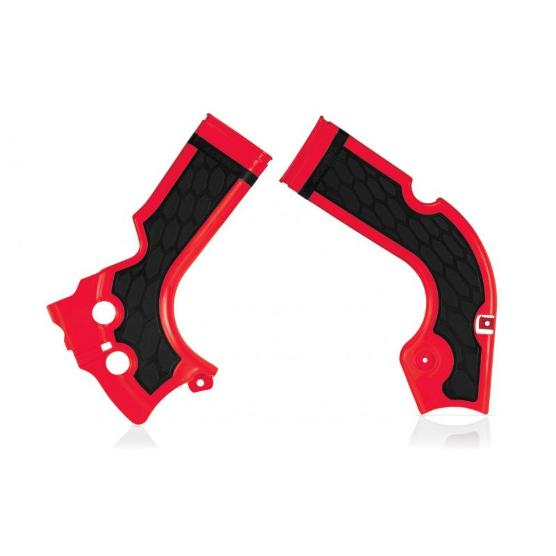 Protection de cadre Acerbis X-grip Honda 250 CRF 14-16 rouge